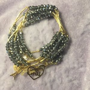 Jewelry - Artesanal Crystal Charm Bracelet (Set 7)